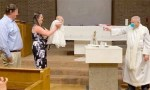 Baptism by water pistol!
