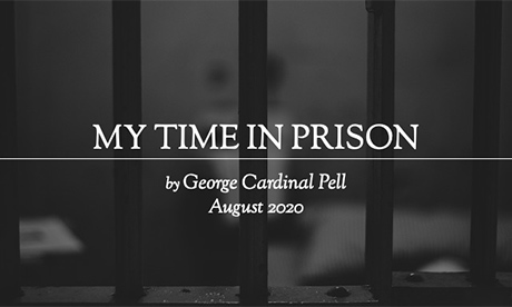 George Pell from prison