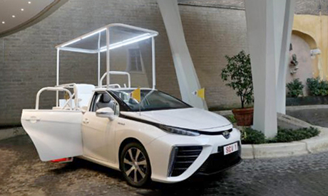 Climate-Friendly Popemobile