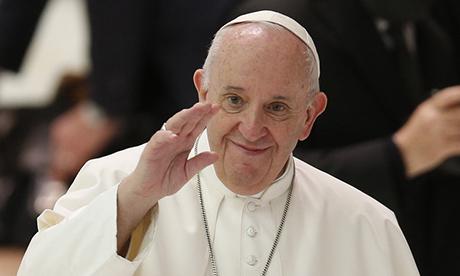 Pope's Instagram model