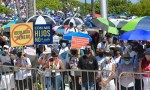 Puerto Ricans march against gender ideology in schools