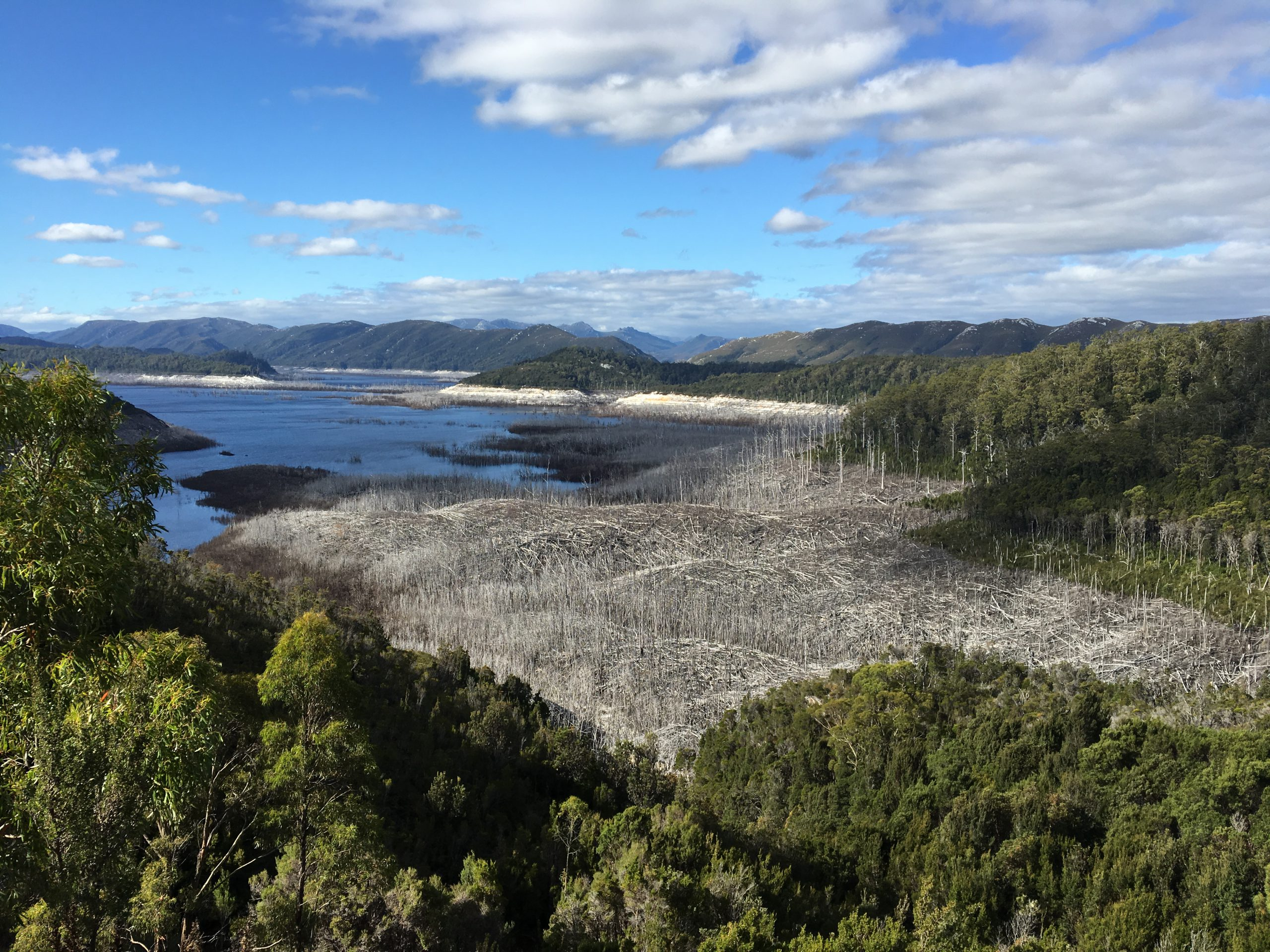 water is running out, tasmania