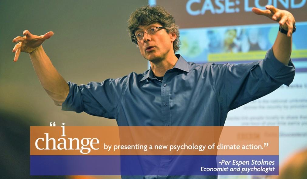 Per Espen Stoknes, Economist and psychologist