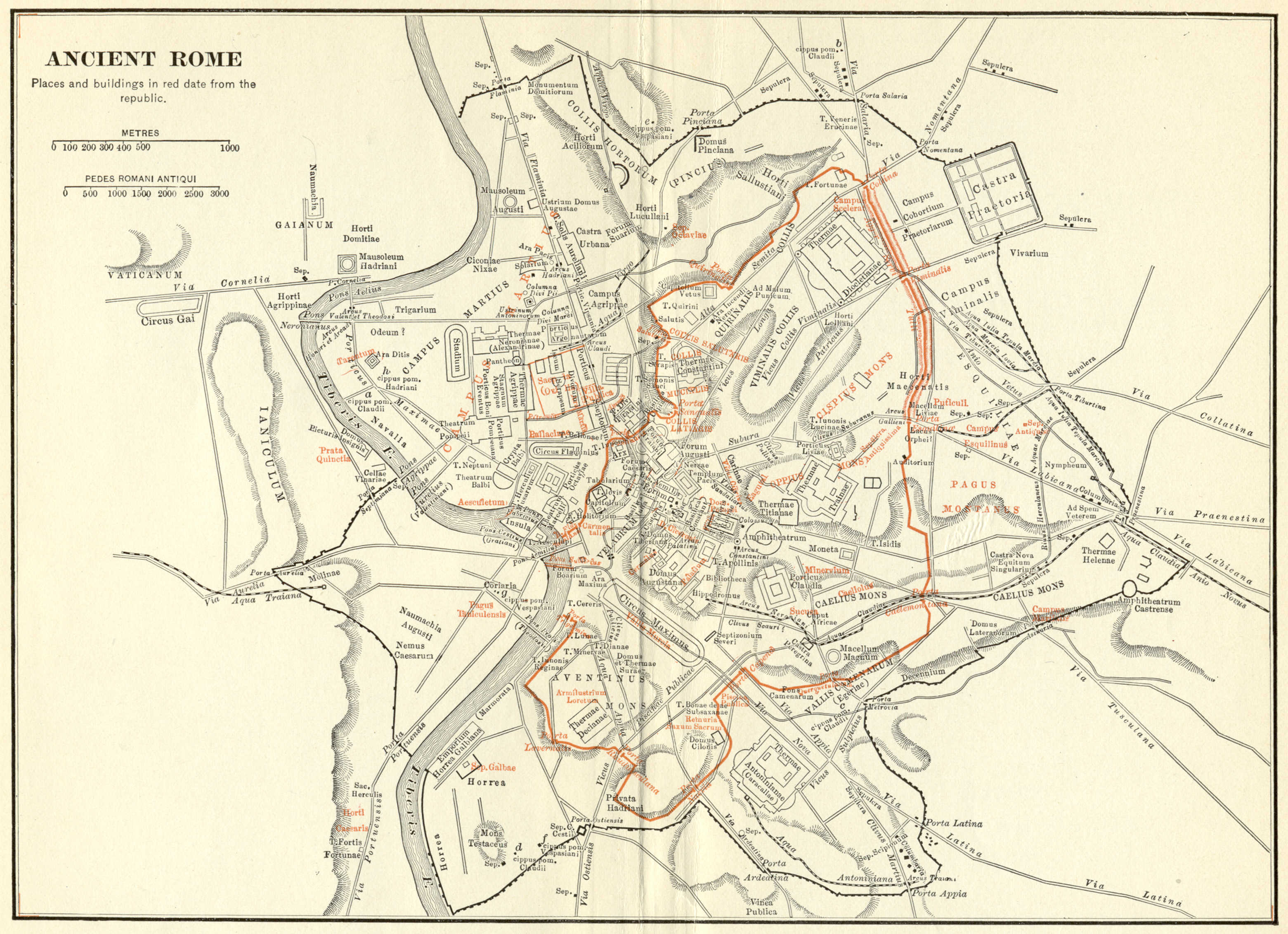 Looking For Maps Of Rome Around The Time Of Julius Caesar