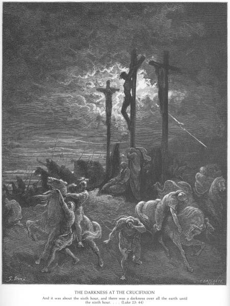 Darkness at Crucifixion, Dore