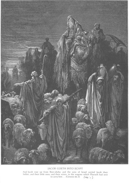 Gustave Doré, Jacob Goeth into Egypt