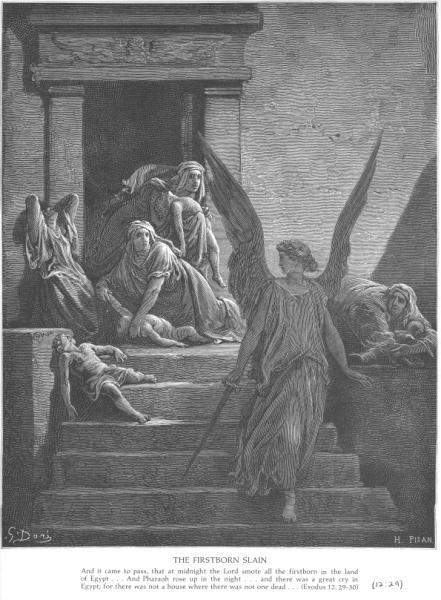 Gustave Doré, The firstborn slain