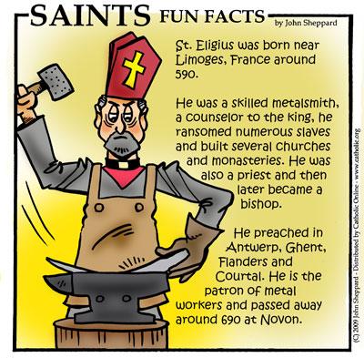 St Eligius Saints Amp Angels Catholic Online