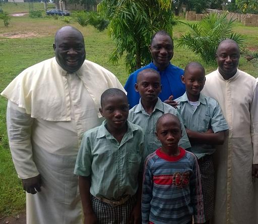 Godstime enters the seminary