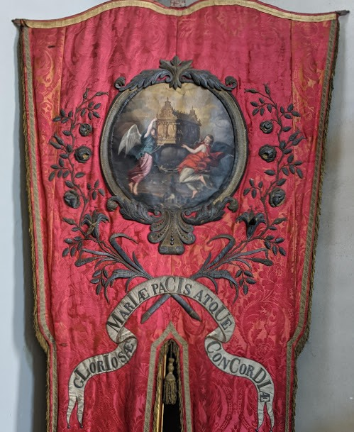 Processional banner of the brotherhood of 'Onze Lieve Vrouw van Peys en Soet Accoort