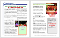 Christmas Bulletin Insert