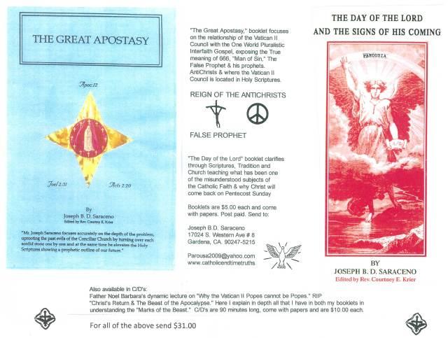 Image result for The Great Apostasy JOSEPH SARACENO