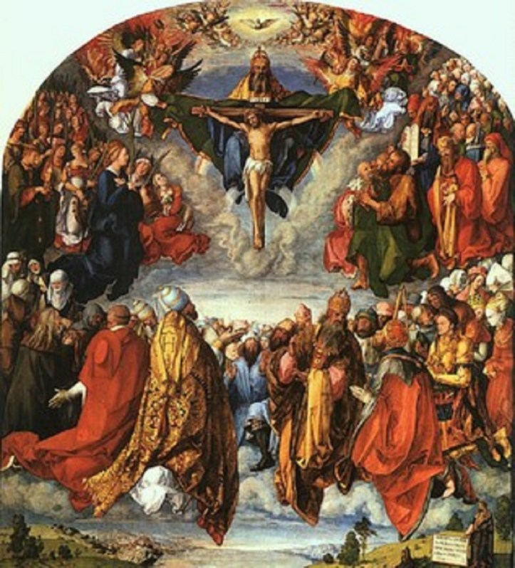 Communion of saints image
