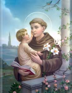 St. Anthony of Padua Public Domain Image