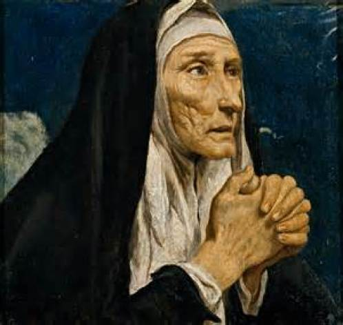 St. Monica Public Domain Image