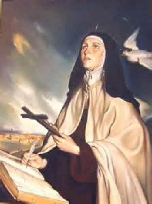 St. Teresa of Avila Public Domain Image