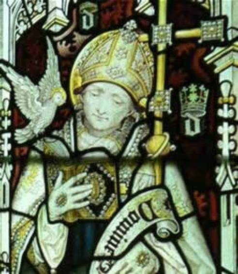 St. David of Wales Public Domain Image
