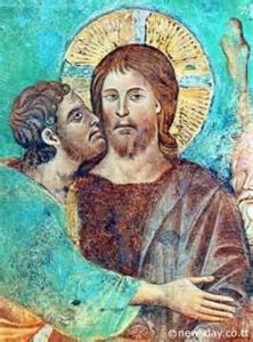 St. Judas Iscariot Apostle and Traitor Public Domain Image