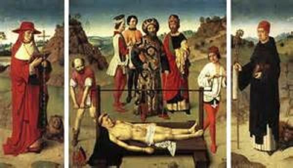 Martyrdom of St. Erasmos Public Domain Image