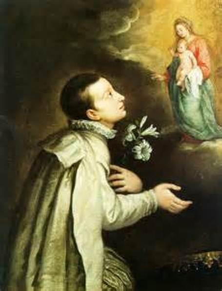 St. Aloysius Gonzaga Public Domain Image