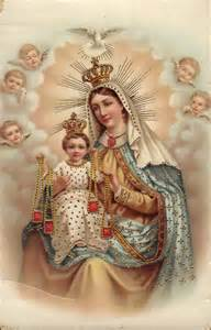 Our Lady of Mt. Carmel Public Domain Image