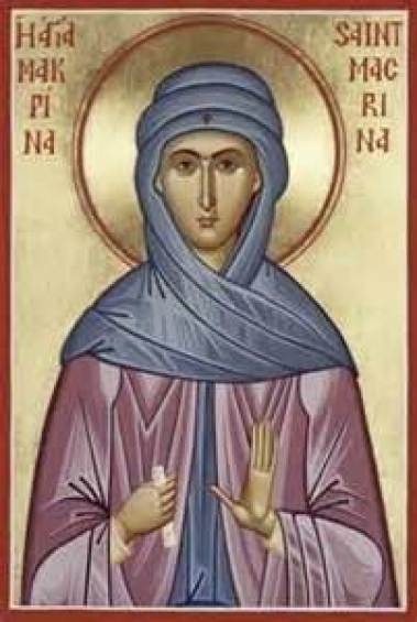 St. Macrina the Younger