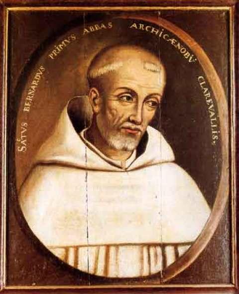 St. Bernard of Clairvaux Public Domain Image