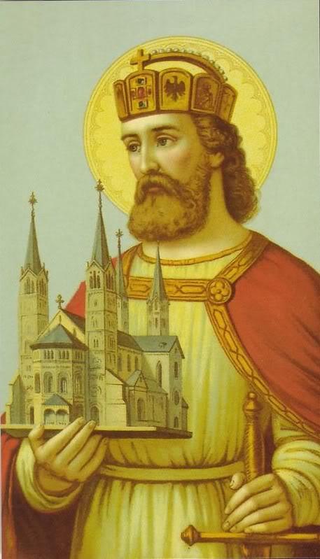 St. Stephen of Hungary Public Domain Image
