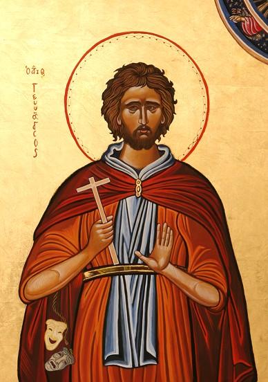 St. Genesius of Rome Public Domain Image