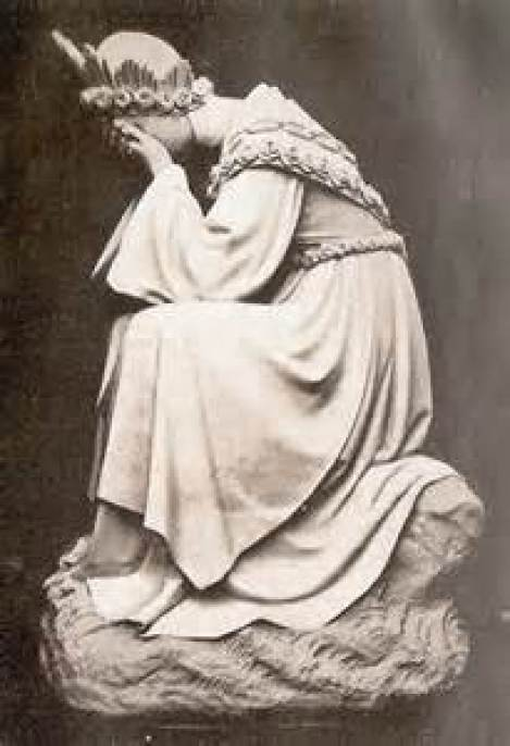 Our Lady La Salette Public Domain Image