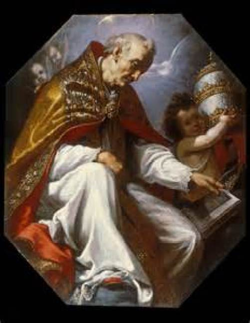 St. Gregory the Great Public Domain Image