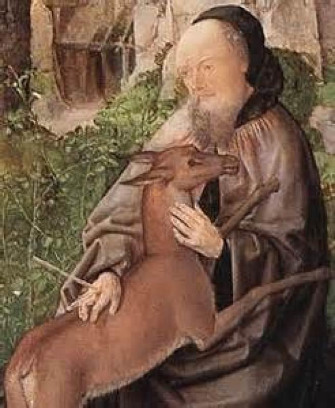 St. Giles, Abbot Public Domain Image