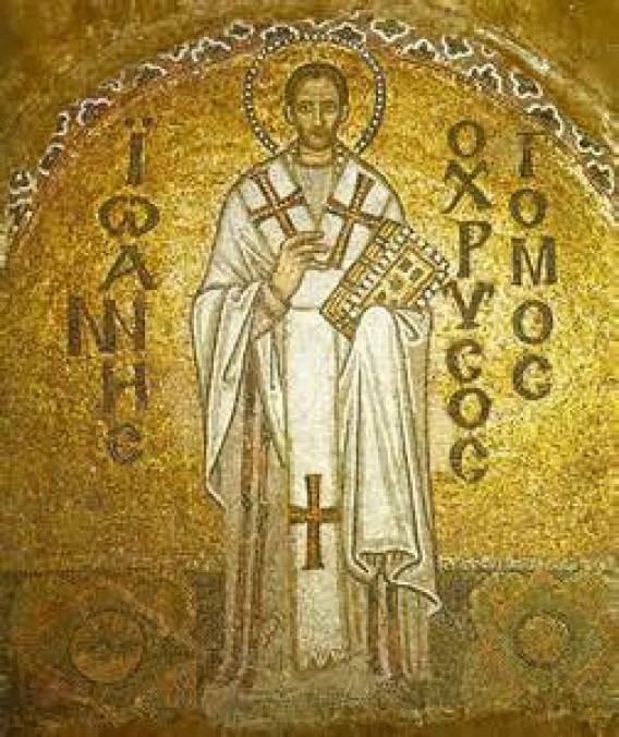 St. John Chrysostom Icon Public Domain Image