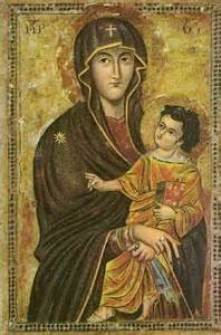 Icon Painted by St. Luke Public Domain Image