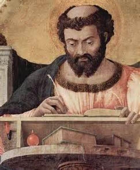 St. Luke the Evangelist Public Domain Image