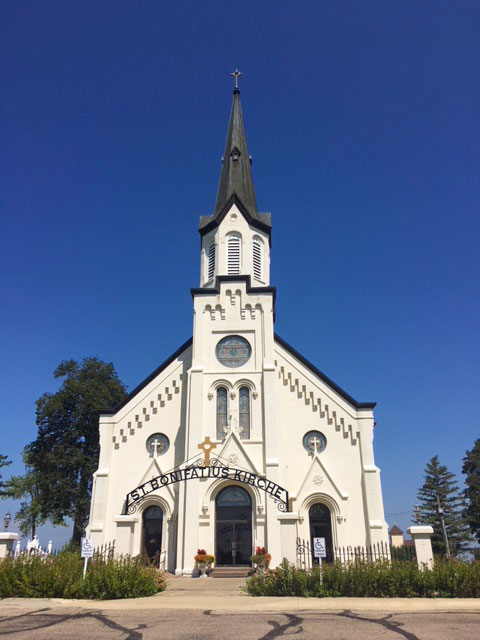 St. Boniface Church - Westphalia