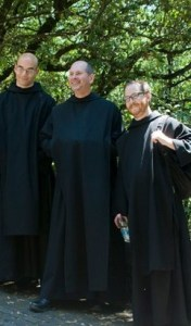 Some of the brothers of Silverstream Priory.