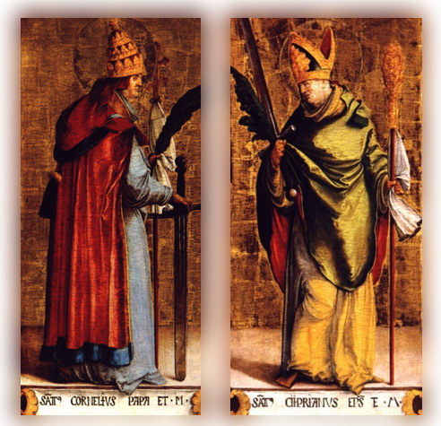Image result for saints cornelius and cyprian