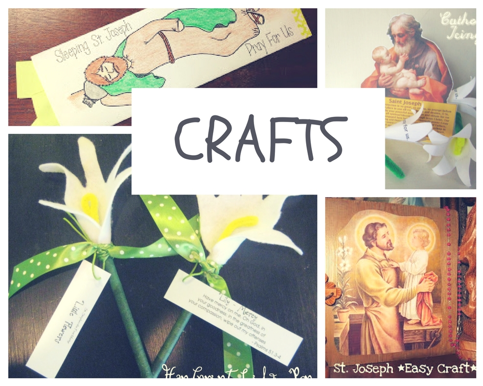 Saint Joseph crafts for kids