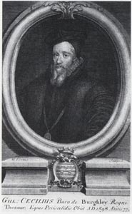 The infamous Sir William Cecil.