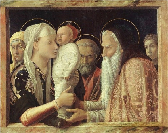 Presentation in the Temple by Andrea Mantegna (1431-1506)