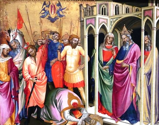 The Martyrdom of Saint Caius, by Lorenzo Monaco, photo by Polylerus (Own work) [Public domain, GFDL or CC BY 3.0], via Wikimedia Commons