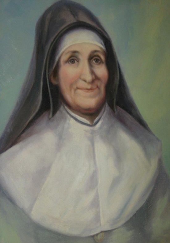 Saint Julie Billiart, painting by unknown artist (details/credits)