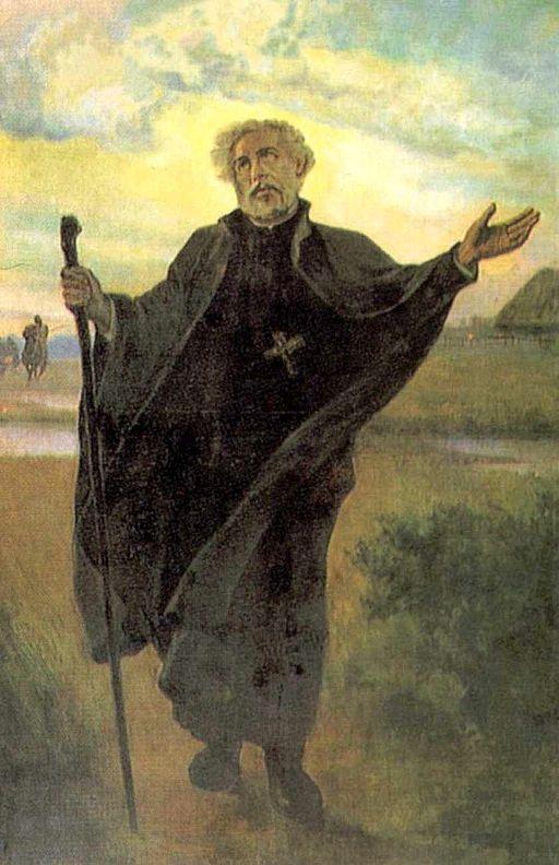 Saint Andrew Bobola (details)