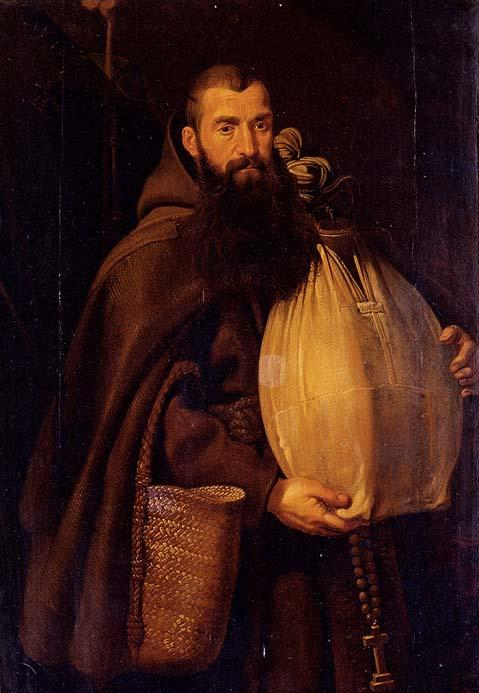 Saint Felix of Cantalice by Peter Paul Rubens (details)