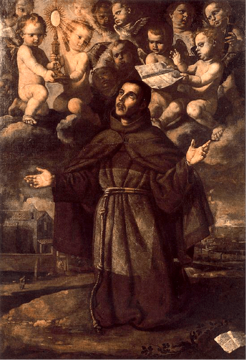 Saint Paschal Baylon, anonymous (source)