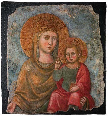 Our Lady of the Way, Church of the Gesù, Rome