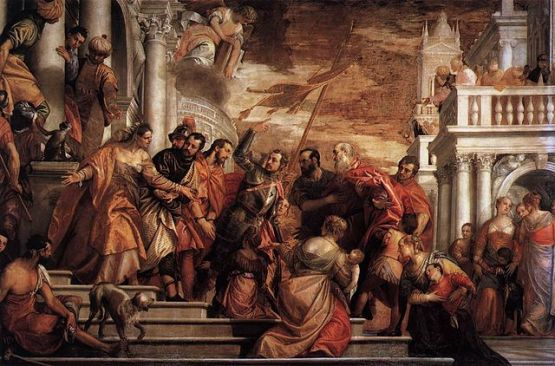 Saints Mark and Marcellinus being led to Martyrdom, by Paolo Veronese (1528–1588) source