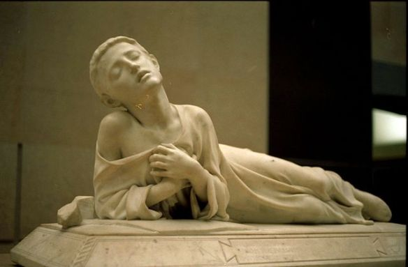 Alexandre Falguière, Tarcisius, Christian martyr, 1868 (photo by Rama, some rights reserved) source