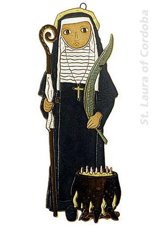 Saint Laura of Cordoba (source)